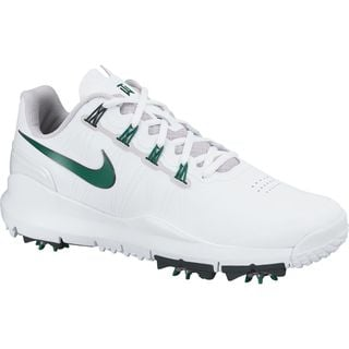 Nike Golf TW '14 Men's Master's Limited Edition White/ Green Golf Shoes