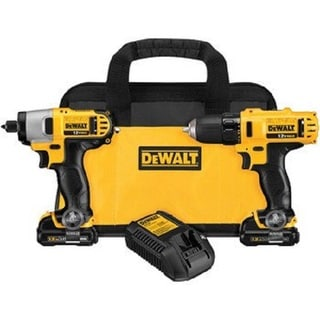 Dewalt DCK211S2WW Wounded Warrior Project 12V MAX Cordless Lithium Ion Drill/Driver and Impact Driver Combo Kit