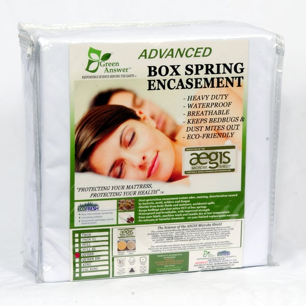Green Answer Advanced Waterproof Box Spring Encasement