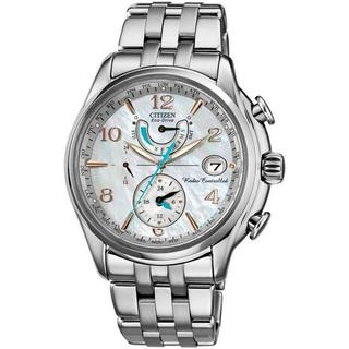 Citizen Women's FC0000-59D Eco-Drive Silvertone Mother of Pearl Dial Quartz Stainless Steel Watch
