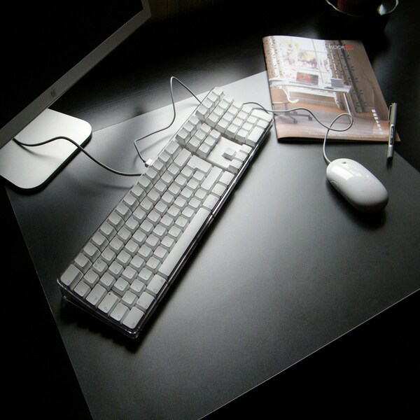 Floortex Pack of 4 - Desktex PVC Smooth Back Desk Mats Rectangular Shaped (1'7 x 2')