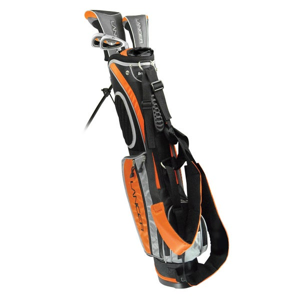 Intech Lancer Orange Junior Golf Set