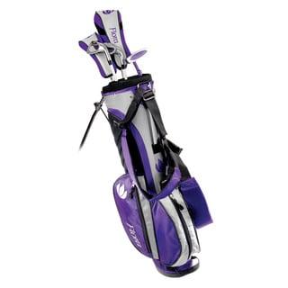 Intech Flora Junior Girls Golf Set Purple Right Hand Youth