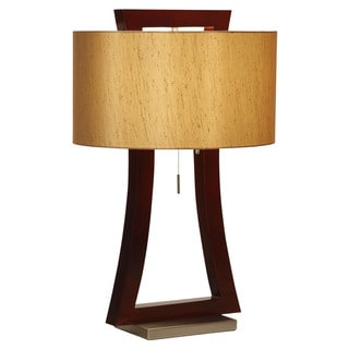 Nova Lighting Vault Wood Table Lamp