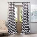 EFF Fez Grey/Tan Grommet Top Blackout Curtain