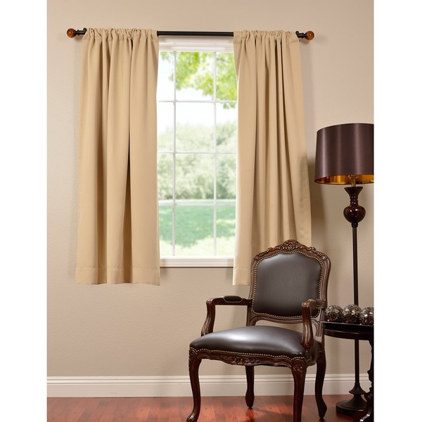 Eff Thermal Blackout 63 Inch Curtain Panel Pair 16714706
