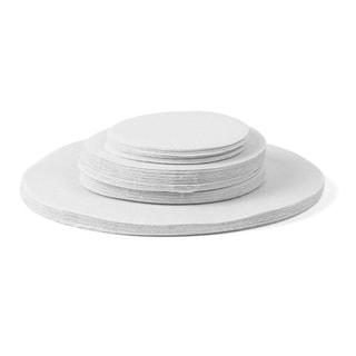 Richards Homewares Tabletop Storage Felt Plate Dividers (Set of 48)