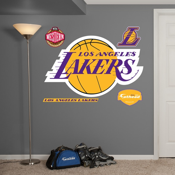 Fathead LA Lakers Logo Wall Decals