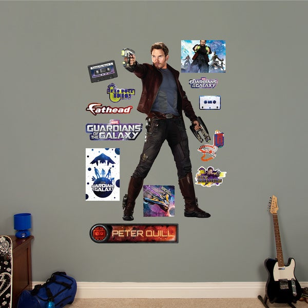 Fathead Guardians of the Galaxy Peter Quill Wall Decals