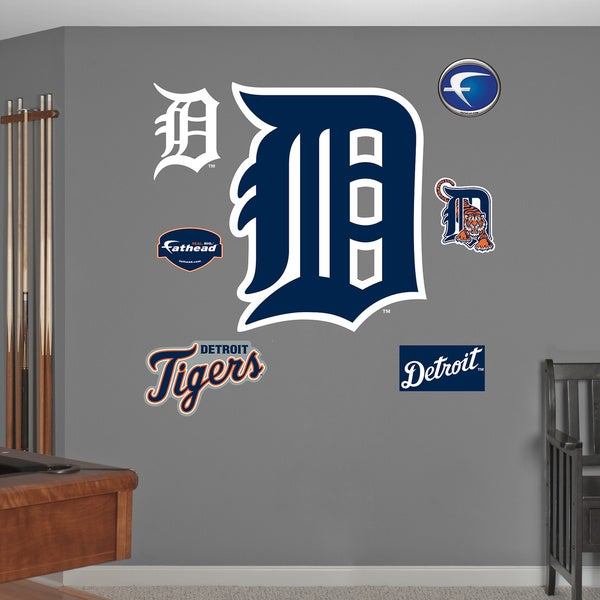 Fathead Detroit Tigers D Logo Wall Decals