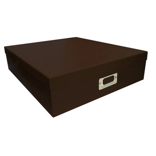 Pioneer Photo Albums Brown Scrapbooking Storage Box (Set of 6)