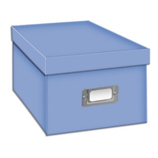 Pioneer Photo Albums Sky Blue CD/DVD Storage Box (Set of 6)