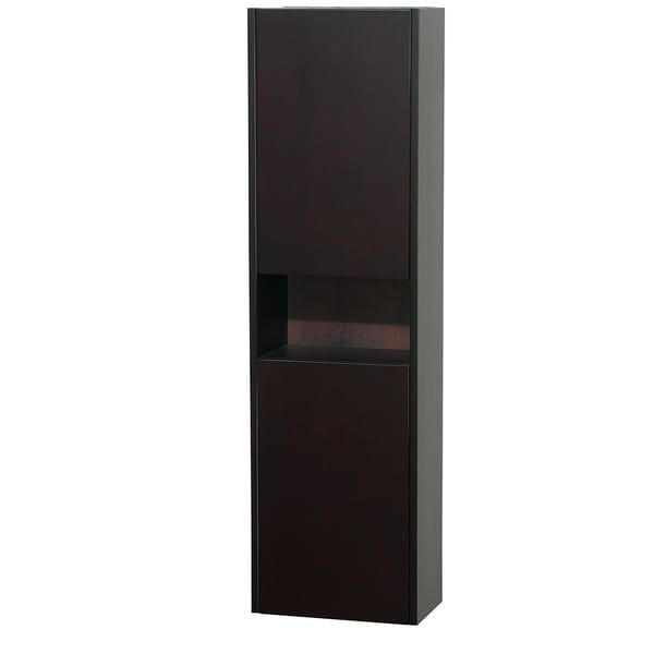 Wyndham Collection Diana 56-inch Wall-Mounted Bathroom Cabinet with 2 Internal Storage Compartments