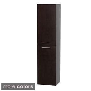 Wyndham Collection Bailey 56-inch Bathroom Wall-Mounted Storage Cabinet (2-door)