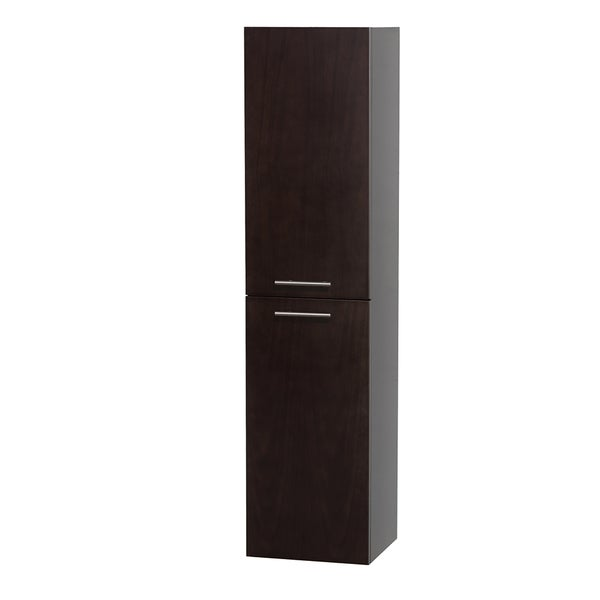 Wyndham Collection Bailey 56-inch Bathroom Wall-Mounted Storage Cabinet (2-door)