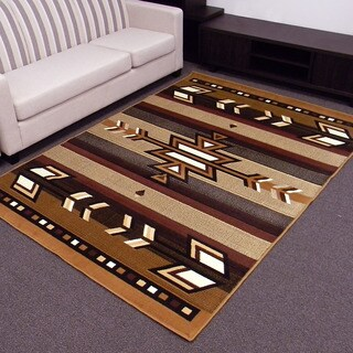 DonnieAnn Taj Mahal Southwestern Design 5' x 7' area rug