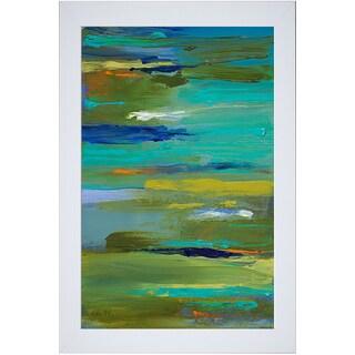 Lanie Loreth 'Pond of Color' Framed Art