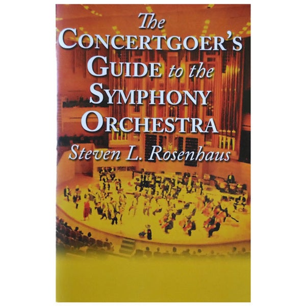 'The Concert Goer's Guide' Paperback Book