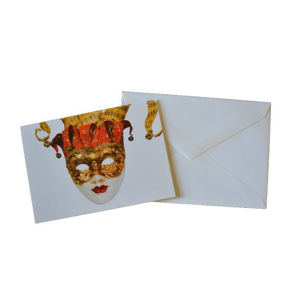 Mask Boxed Note Cards