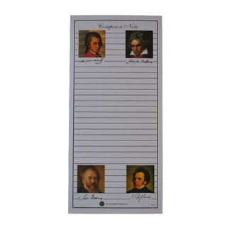 'Compose A Note' Shopping List Pads (Pack of 10)
