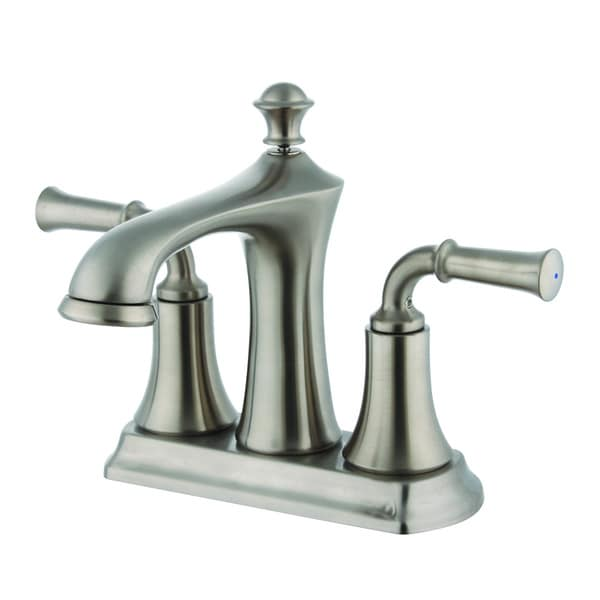 Two Handle 4 Inch Center Set Lavatory Faucet Overstock Shopping Great Deals On Bathroom Faucets