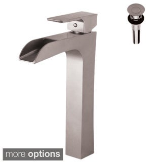 Single Handle Lavatory Faucet with Metal Pop up Drain