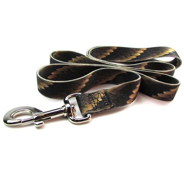 Laso 5-foot Snake Print Dog Leash