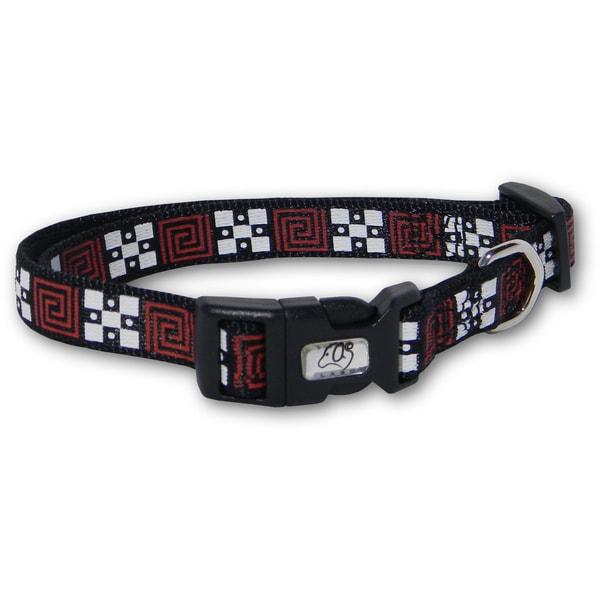 Laso 18-inch Geometric Nylon Dog Collar