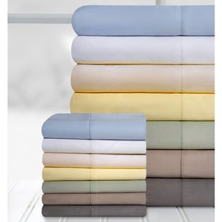 Grand Patrician Hemstitch 100-percent Cotton 800 Thread Count Sheet Set