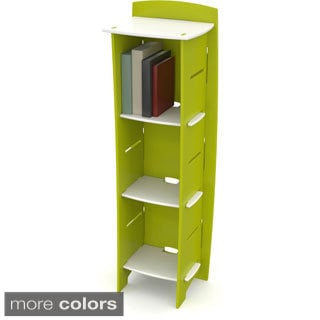 Legare Green and White Bookcase