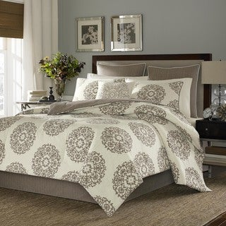 Stone Cottage Medallion Cotton Sateen 3-piece Duvet Cover Set
