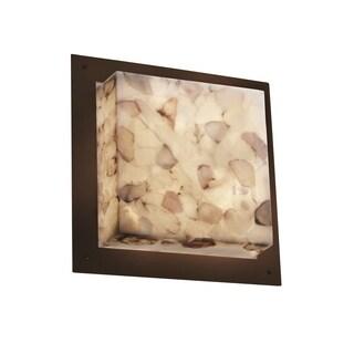 Justice Design Group Framed 4-light Dark Bronze Wall Sconce