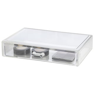 Richards Homewares Extra Large Clear Acrylic Stackable Drawer