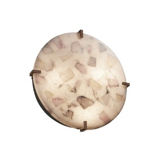Justice Design Group Clips 4-light Dark Bronze Wall Sconce