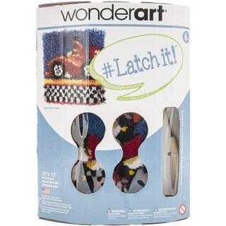 "Wonderart Latch Hook Kit W/Tool 12""X12""-Zoom"