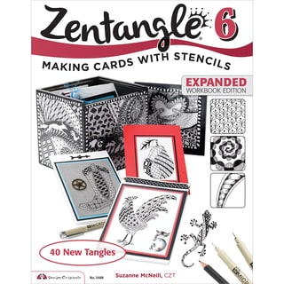 Design Originals-Zentangle 6 Expanded Workbook Edition