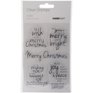 Yuletide Clear Stamps 6.25X4in