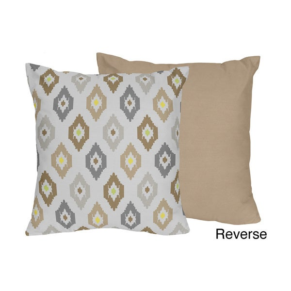 Safari Outback Bedding Set Ikat Throw Pillow