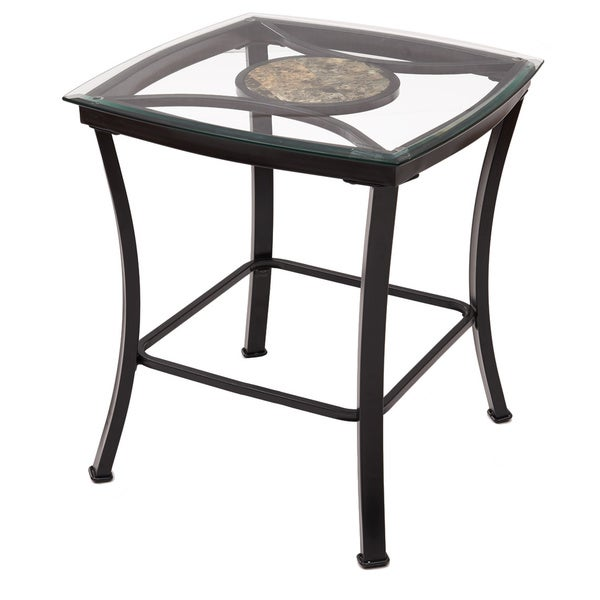 Adeco Glass and Black Metal End Table Overstock  : Adeco Glass and Black Metal End Side Table f1c9be7a 6a46 4d4b acdb 6363c780b342600 from www.overstock.com size 600 x 600 jpeg 24kB
