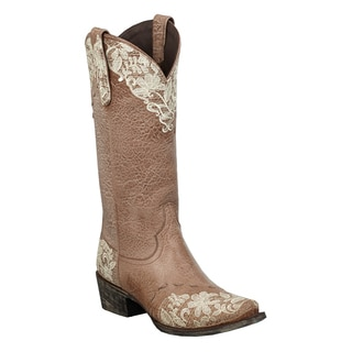 "Lane Boots' Women's ""Jeni Lace"" Cowboy Boot"