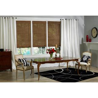 Victoria Hills Collection Bamboo Roman Shade in Natural Finish