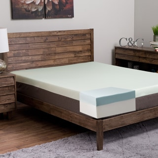 Island Dream Kailua 10-inch King-size Memory Foam Mattress