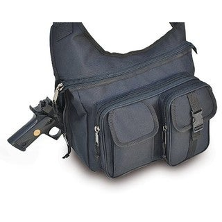 Explorer 17-inch Black Messenger Bag