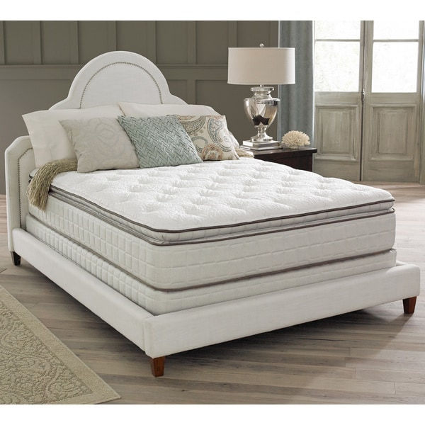 Spring Air Premium Collection Noelle Pillow Top King-size Mattress Set