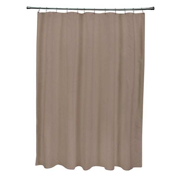 Ginger Snap Solid Shower Curtain