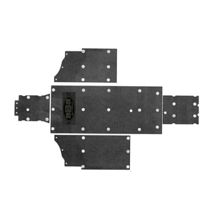 SSS Off Road Polaris Ranger XP 800 UHMW Skid Plate Underbody