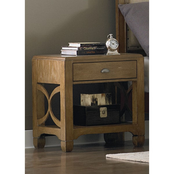 Liberty Town and Country Distressed Sandstone Nightstand