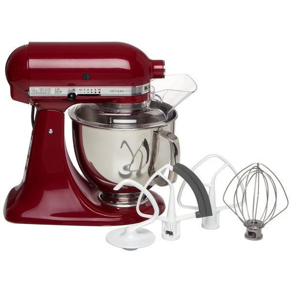 Kitchenaid Ksm153psgc Gloss Cinnamon 5 Quart Artisan Tilt