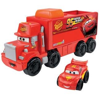 Little People Wheelies Disney Pixar Mack Hauler & Lightning McQueen