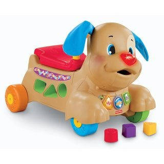 Fisher-Price Laugh & Learn Stride to Ride Puppy